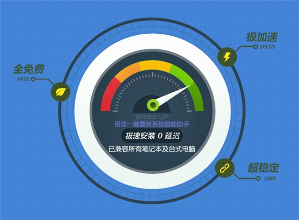 极速一键重装系统V1.9.8简体中文版