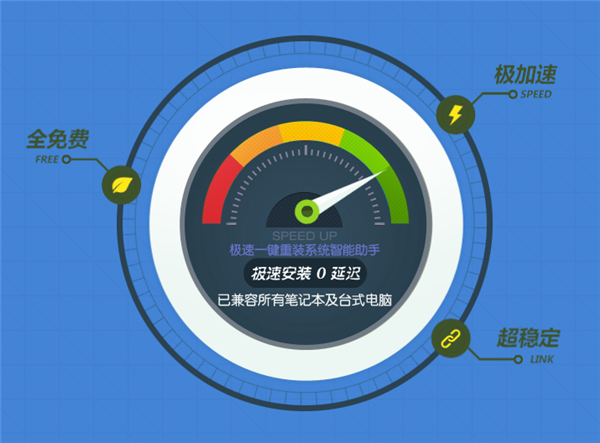 【重装系统软件下载】极速一键重装系统V9.1标准版