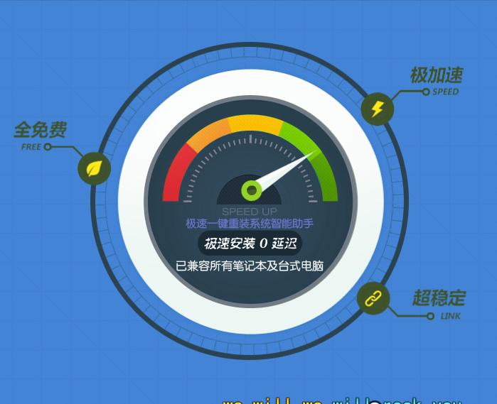 【电脑系统重装】极速一键重装系统V1.7.0高级版