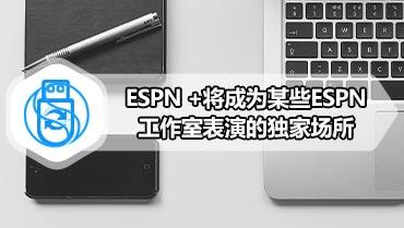 ESPN +将成为某些ESPN工作室表演的独家场所