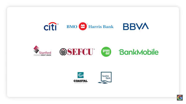 Google与花旗银行合作开发了移动优先帐户
