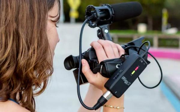 iRig Pre 2是适用于您的智能手机或相机的高质量音频接口