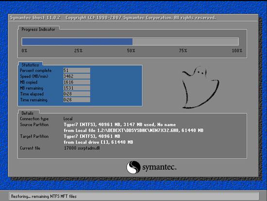 电脑win7重装系统备份详细步骤
