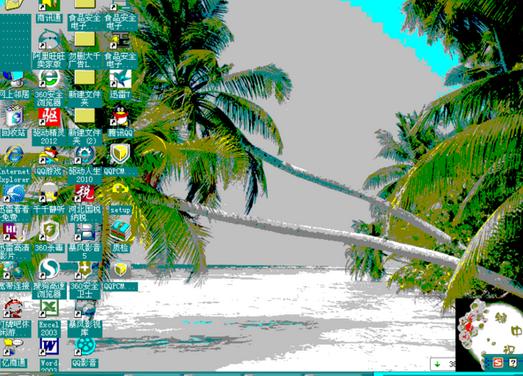 台式电脑重装系统显示模糊怎么办