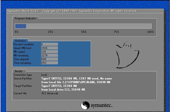 xp系统一键装机版如何安装