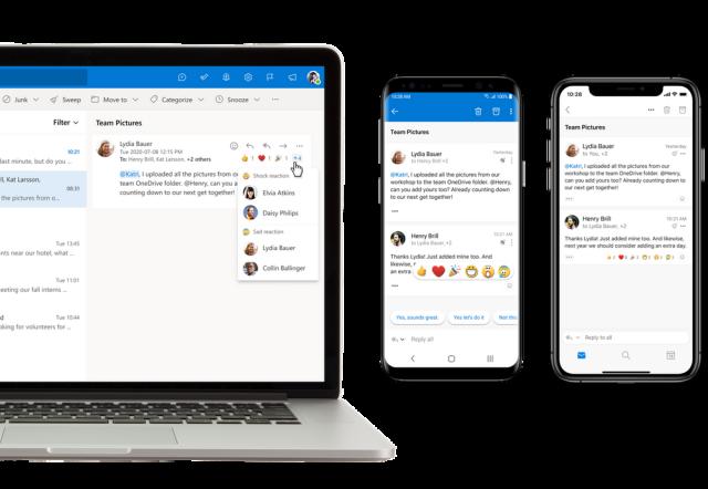 适用于iOS和Android的Outlook正在获得更好的语音控制