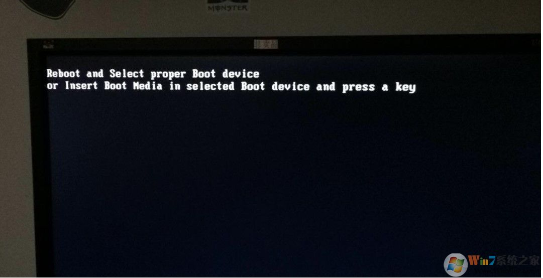 win10系统黑屏提示reboot and select proper boot device怎么办