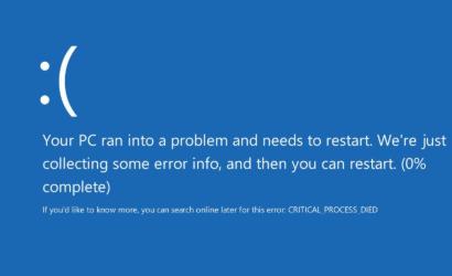 传授电脑蓝屏开不了机怎么办