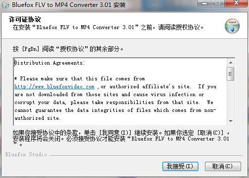 Bluefox FLV to MP4 Converter